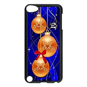 iPod Touch 5 Case Black Merry Christmas Ball Rekxq