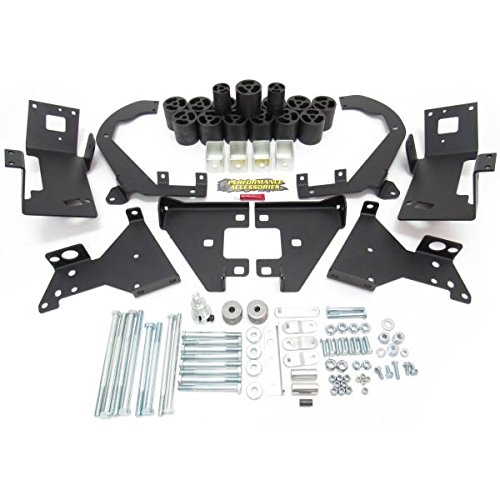 Performance Accessories, Chevy Silverado 1500 Gas Only 2WD and 4WD 3″ Body Lift Kit, fits 2014 to 2015, PA10293, Made in America