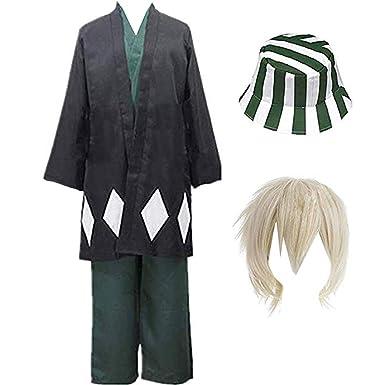 Amazon.com: myyh Anime Urahara Kisuke disfraz de cosplay ...