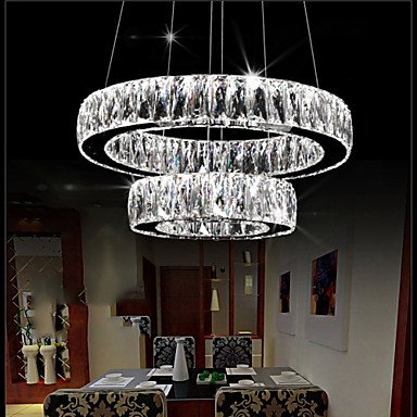 LED de lámpara de techo colgante de cristal iluminación ...