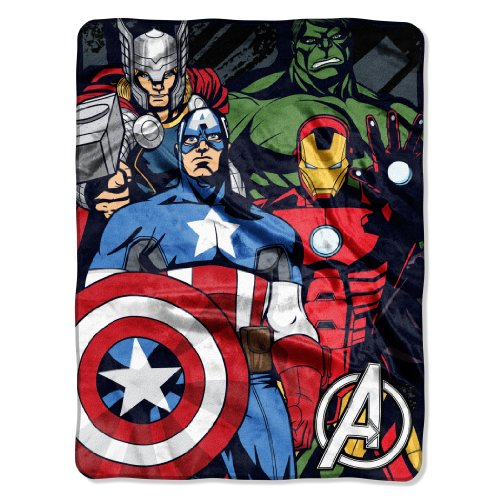 Marvel Avengers We Fight Micro Throw