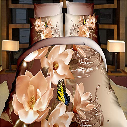 KYOKIM Teenagers Bedding 3 Set, Three-dimensional Patterned Quilt Cover And...