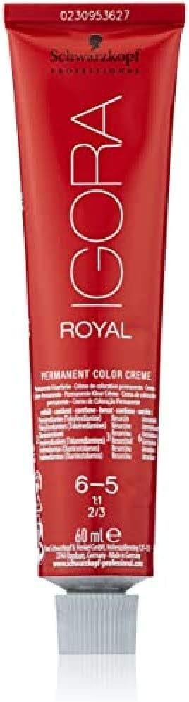 Schwarzkopf Igora Royal Tinte Permanente, Tono 6-5 - 60 ml