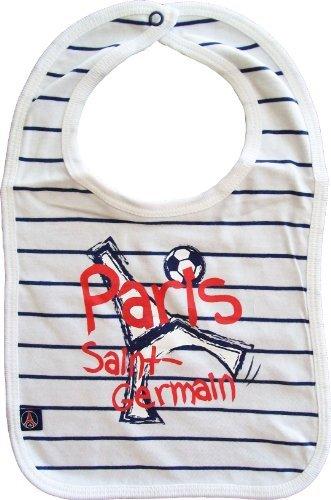 Bavoir bébé PSG garçon - Collection officielle PARIS SAINT GERMAIN -  Football Ligue 1 - Baby f5644972502