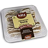 Katz Gluten Free Cinnamon Buns, 10 Ounce, Certified Gluten Free - Kosher - Dairy, Nut & Soy free - (Pack of 1)