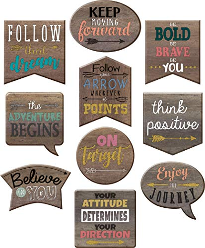 Teacher Created Resources Home Sweet Classroom Positive Sayings Accents (TCR8859) -