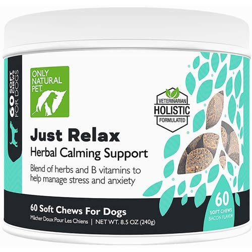 Only Natural Pet Just Relax 60 Soft Chews 8.5 oz Jar ()