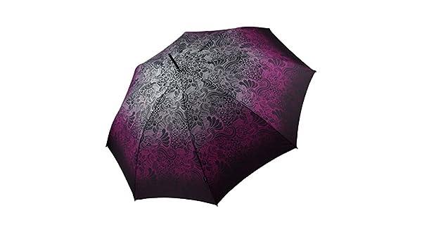 Knirps paraguas de Stock de la pantalla para mujer morado Talla única: Amazon.es: Ropa y accesorios