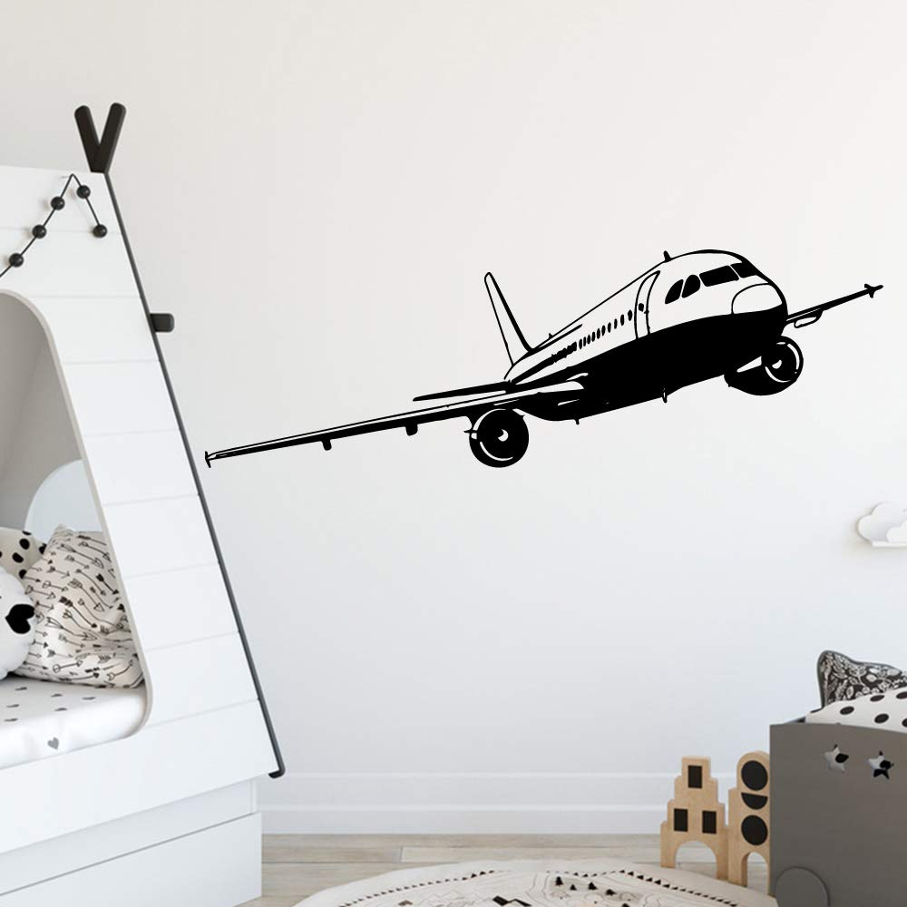 BFMBCH Calcomanías de pared para aviones Calcomanías de arte de ...
