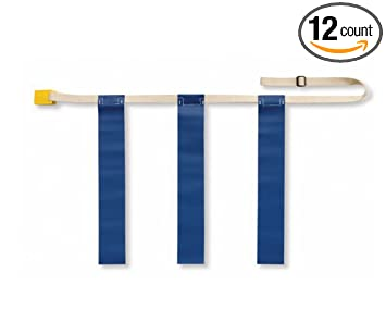 Amazon.com: Triple amenaza Bandera Cinturones de fútbol ...
