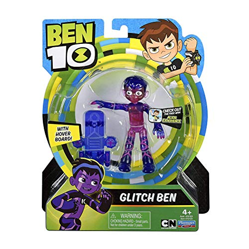 Ben 10 76129 Glitch Basic Figure, Multicolor (Upgrade Ben 10)