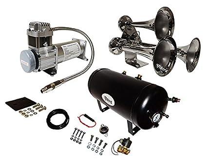 Amazon.com: Viking Horns V103C-6-12/307 Super Loud 170 ... on