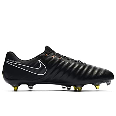 Nike Men s Tiempo Legend 7 Elite SG-Pro AC Soccer Cleats (Black Total 90d36c2f13786