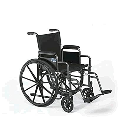 Wheelchair Personal Transport Lightweight (Invacare Veranda w/desk length removable arms and leggings)