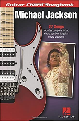 Amazon.com: Michael Jackson - Guitar Chord Songbook (0888680028961 ...
