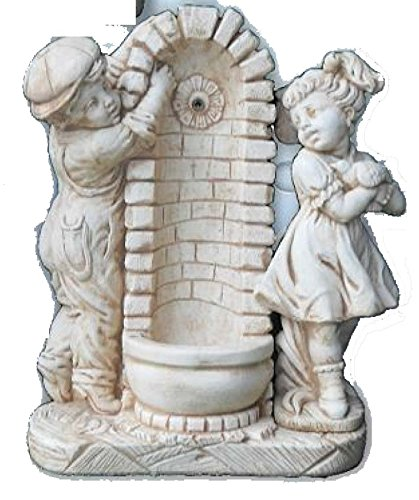 Vendita Fontane Da Giardino.Fontane Da Giardino In Cemento Fontana Venezia H Cm 92 Amazon It