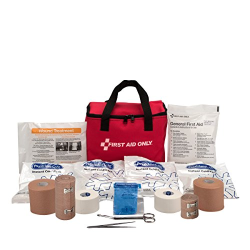 Pac-Kit by First Aid Only 7150 86 Piece Coach's First Aid Kit with Fabric Case by First Aid Only