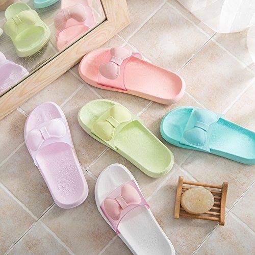 de YMFIE Antideslizante Verano I Zapatillas Zapatillas Dedos casa Pareja baño Piso baño Cool 55qr4w