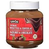 Savor Organic Chocolate Hazelnut Spread 375 Grams