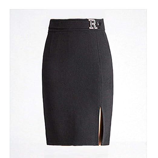6216f9dd1b8 HUIYA Women s Winter Knee Length Pencil Skirts Slim Fit Business Skirt at Amazon  Women s Clothing store