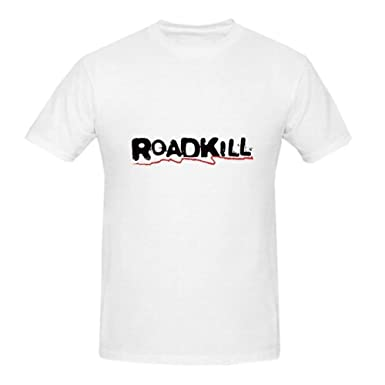 Trikahan Roadkill - Camiseta Informal de algodón para Hombre ...