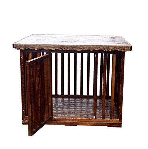 Haustier liefert Holz Holz Sicherheit Isolationsbereich / S, M, L Zwinger Hundebox Hundezaun Waterloo Haustier, XL , L