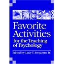 Favorite Activities for the Teaching of Psychology (Activities Handbook for the Teaching of Psychology)
