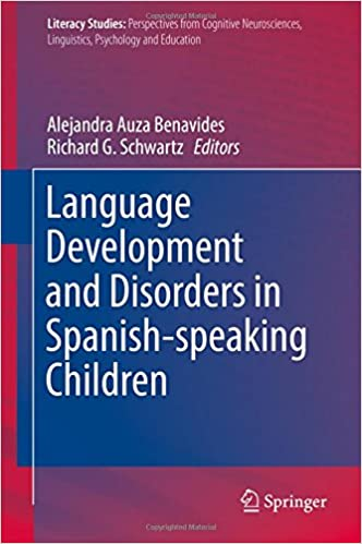 Resultado de imagen de Language Development and Disorders in Spanish-speaking Children