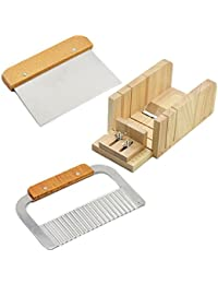 PickUp 1 set 3 Tools Adjustable Wood Soap Blade Wavy and Straight Cutter Fries Cutter Wooden Handle Loaf Cutter Slicer... opportunity