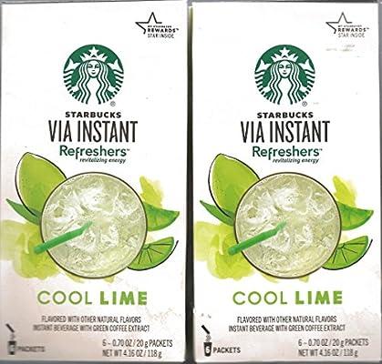 starbucks via cool lime