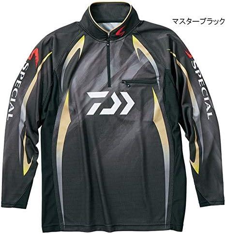 ダイワ(Daiwa) スペシャル アイスドライ ジップアップ長袖メッシュシャツ DE-70009 マスターブラック XL