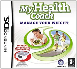 My Health Coach Manage Your Weight (Includes An Exclusive Pedometer) (Nintendo DS)