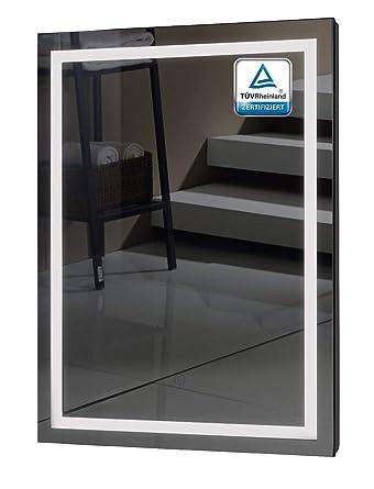 Badezimmerspiegel Mit Beleuchtung Alldrei Ad009 Badspiegel Mit Led