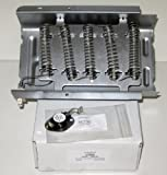 COMBO 279838 and 3977767 Dryer Heating Heater Element and Thermostat for Whirlpool and Kenmore