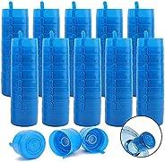 100 Pack Water Bottle Caps, 3 & 5 Gallon Water Jug Cap Anti-Splash Bottle Caps Replacement Water Bottle Sn