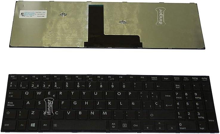 IFINGER Teclado para PORTATIL Toshiba Satellite Pro R50-B EN ...