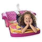 Marshmallow Furniture - Childrens 2 in 1 Flip Open Foam Sofa, Disney Princess Flip Open Sofa