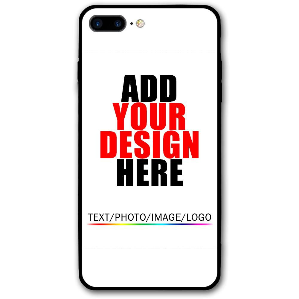 best website 7a20c 82718 Customized Cover Case for iPhone 8/8P 7/7P 6/6S/6P - Design Your Own Case -  Add Your Custom Photo Image Text (for iPhone 8 Plus)