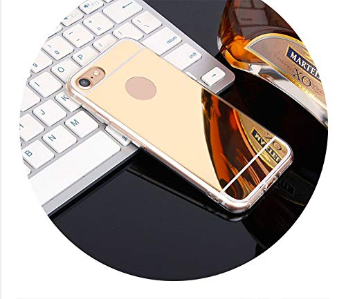 - Cases Luxury Mirror TPU Soft Silicone Case for iPhone5 5s SE 6 6s 7 8 Plus X XS MAX,Gold,for iPhone 8
