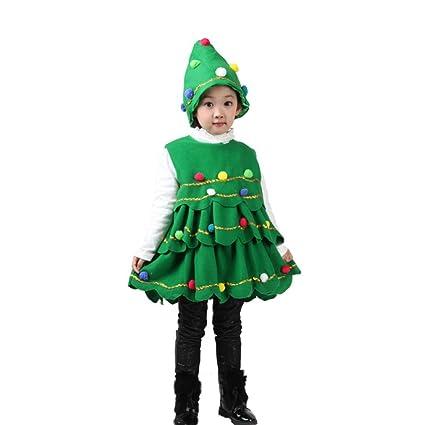 Bestow Navidad Traje De árbol Vestido Tops Chaleco De Fiesta + ...