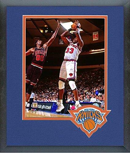 Patrick Ewing New York Knicks NBAアクション写真(サイズ: 13