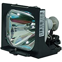 AuraBeam Economy Toshiba TLP-450U Projector Replacement Lamp with Housing