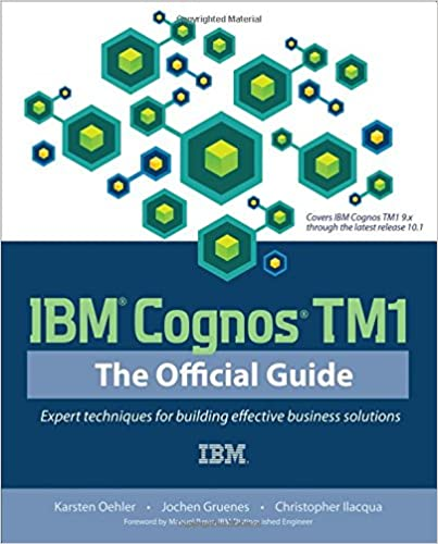 IBM Cognos TM1: The Official Guide