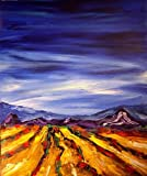 Modern Abstract Impressionist Art Deco - Oil