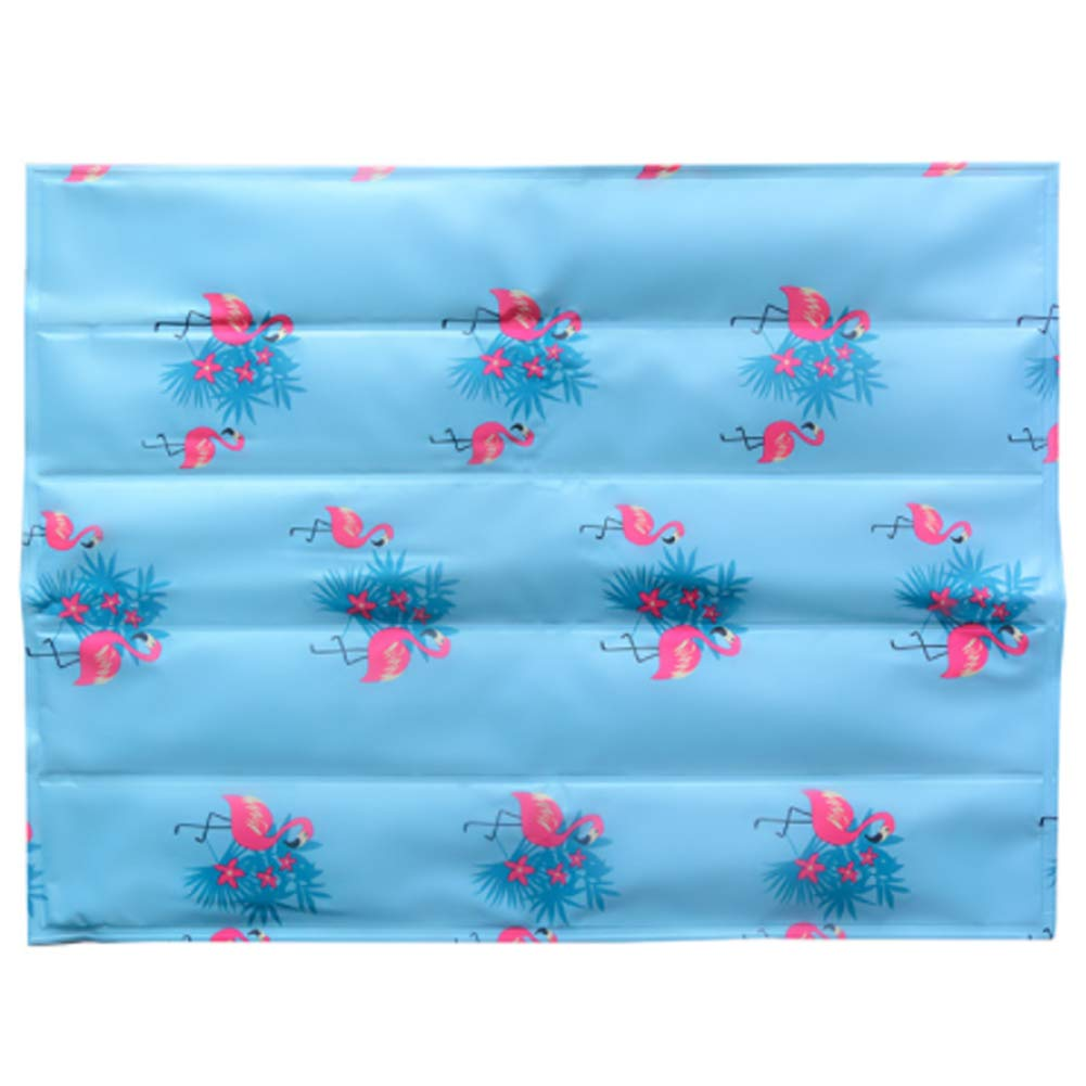 Flamingo Medium flamingo Medium Pet Dog Cooling Mat Ice Pad with Summer Keep Cool Multiple Sizes for Pet Bed and Kennel