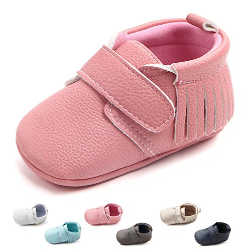 Baby Girl Pink Pram Shoes - 3