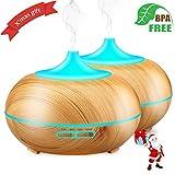 Aroma Essential Oil Diffuser 300ml Ultrasonic Aroma Essential Oil...