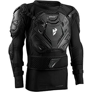 Thor Sentry XP protectores Chaqueta de pecho negro Enduro Offroad Motocross: Amazon.es: Coche y moto