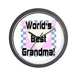 Best World Pride Alarm Clocks - CafePress - World's Best Grandma - Unique Decorative Review