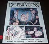 img - for Celebrations to Cross Stitch and Craft (Volume 2, Number 6) Christmas 1991 book / textbook / text book